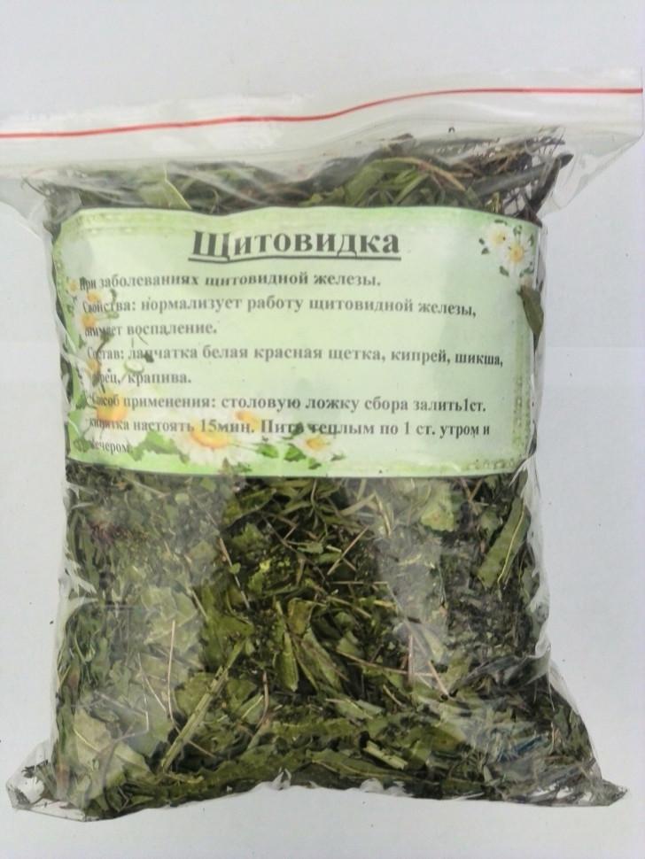 Щитовидка сбор трав