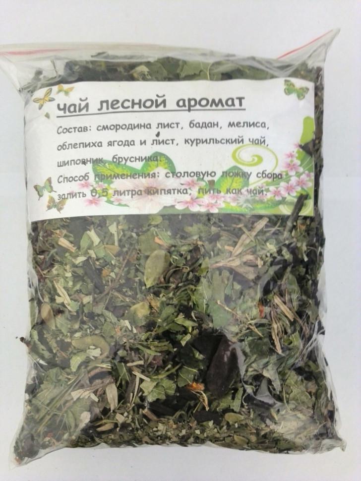 Лесной аромат чай