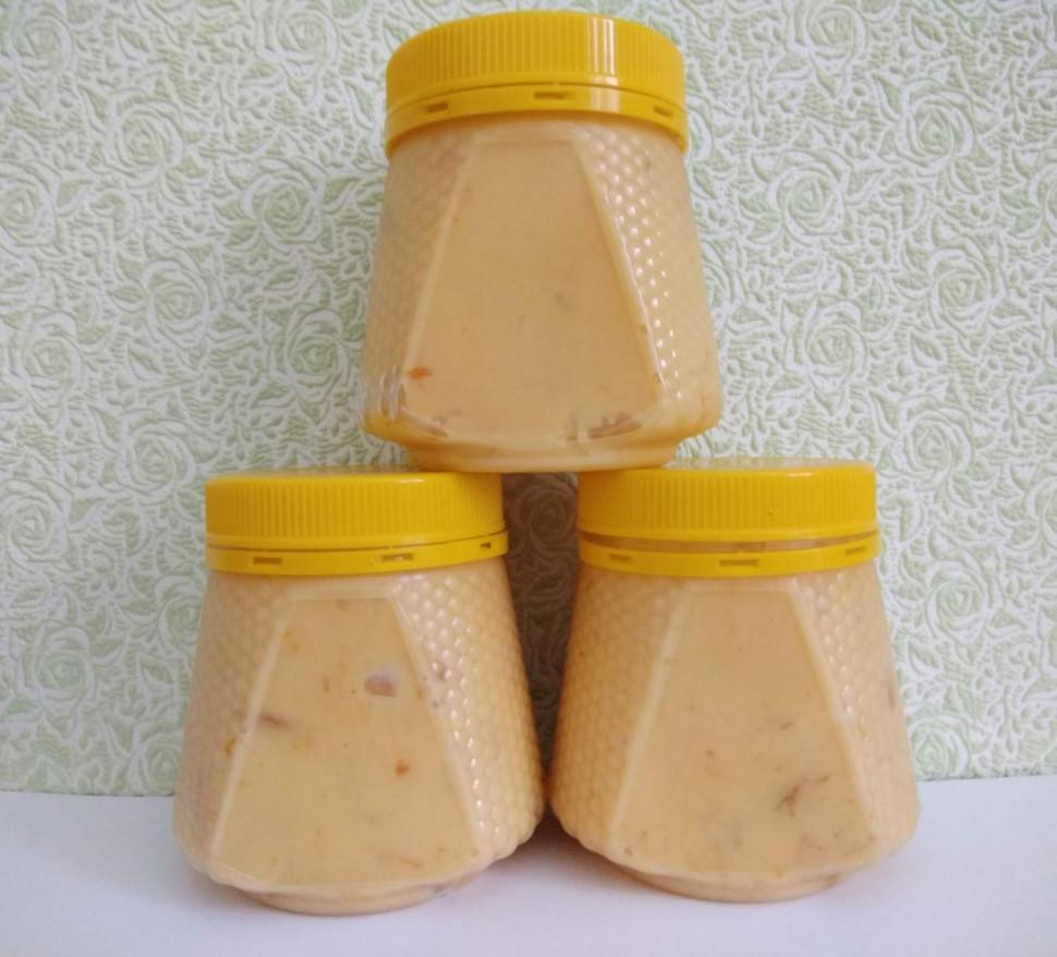 Мед с пчелиным маточным молочком и облепихой