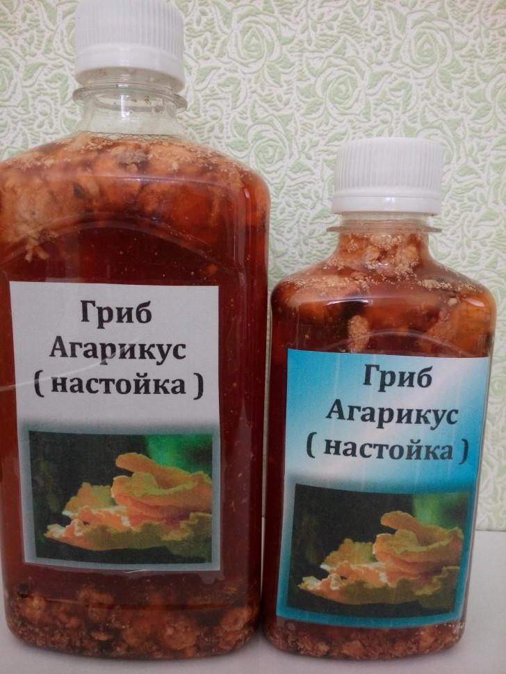 Агарикус гриб настойка