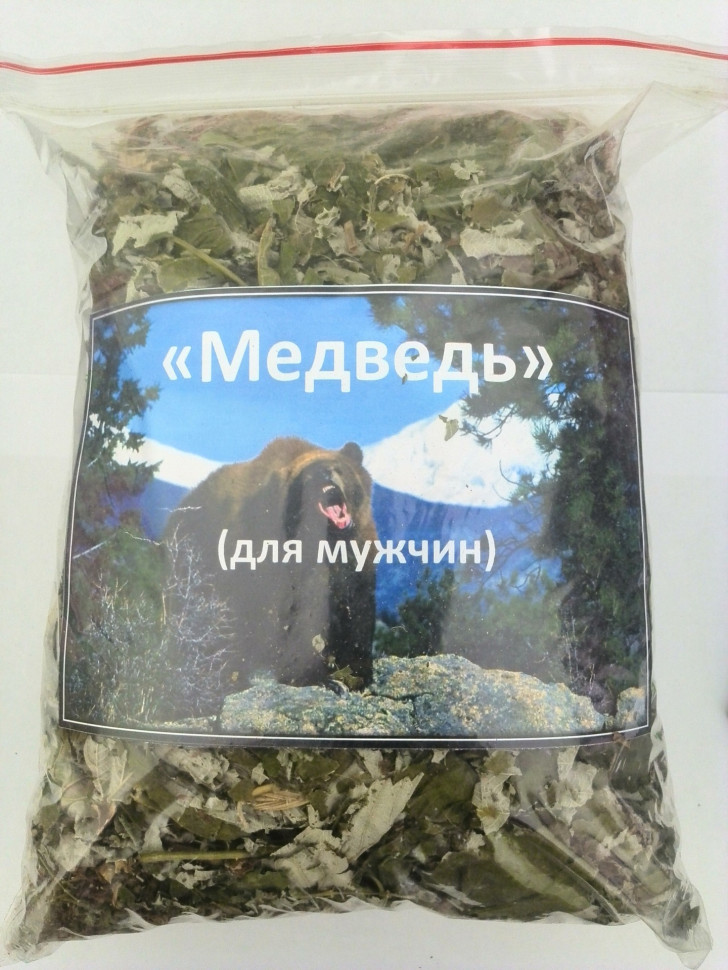 Медведь чайный сбор для мужского здоровья