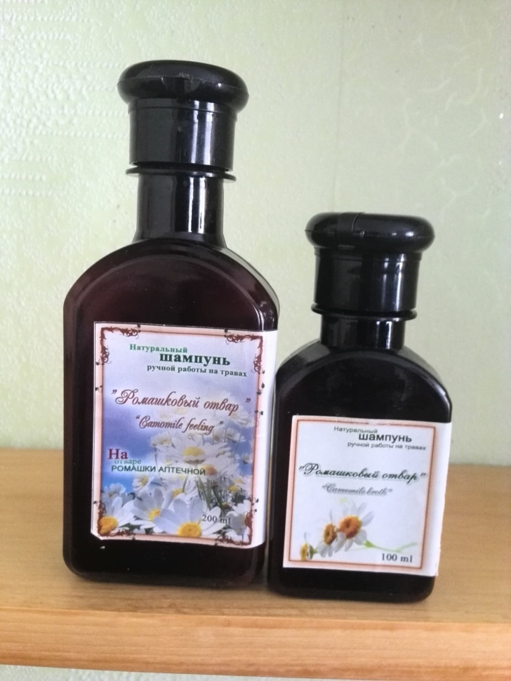 Ромашковый отвар шампунь