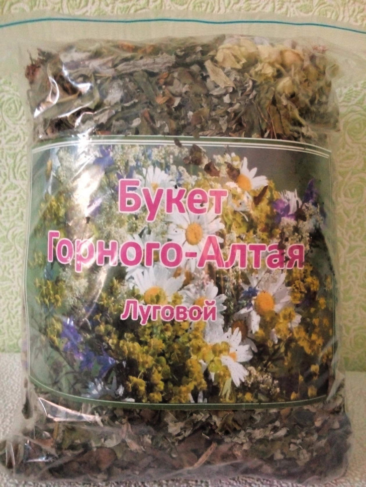 Букет Горного Алтая луговой