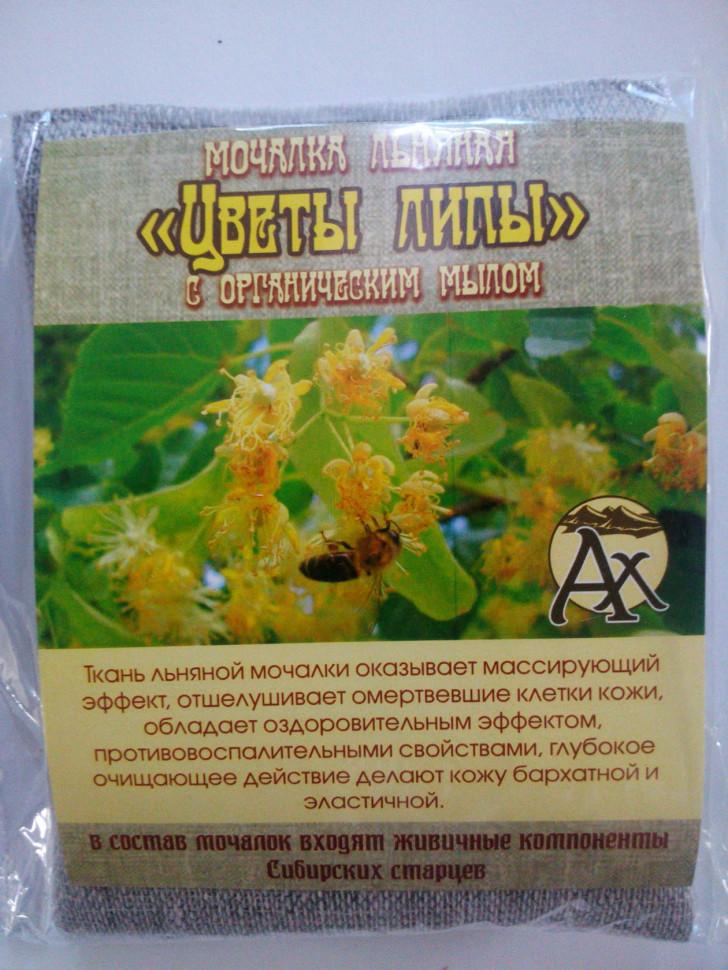 Цветы Липы мочалка