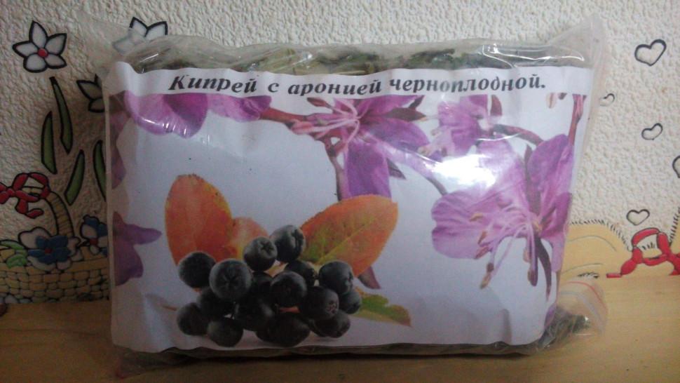 Кипрей с аронией черноплодной сбор