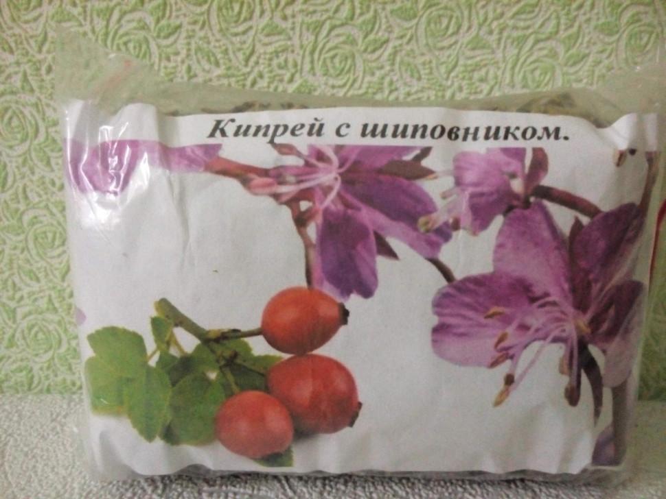 Кипрей с шиповником чай
