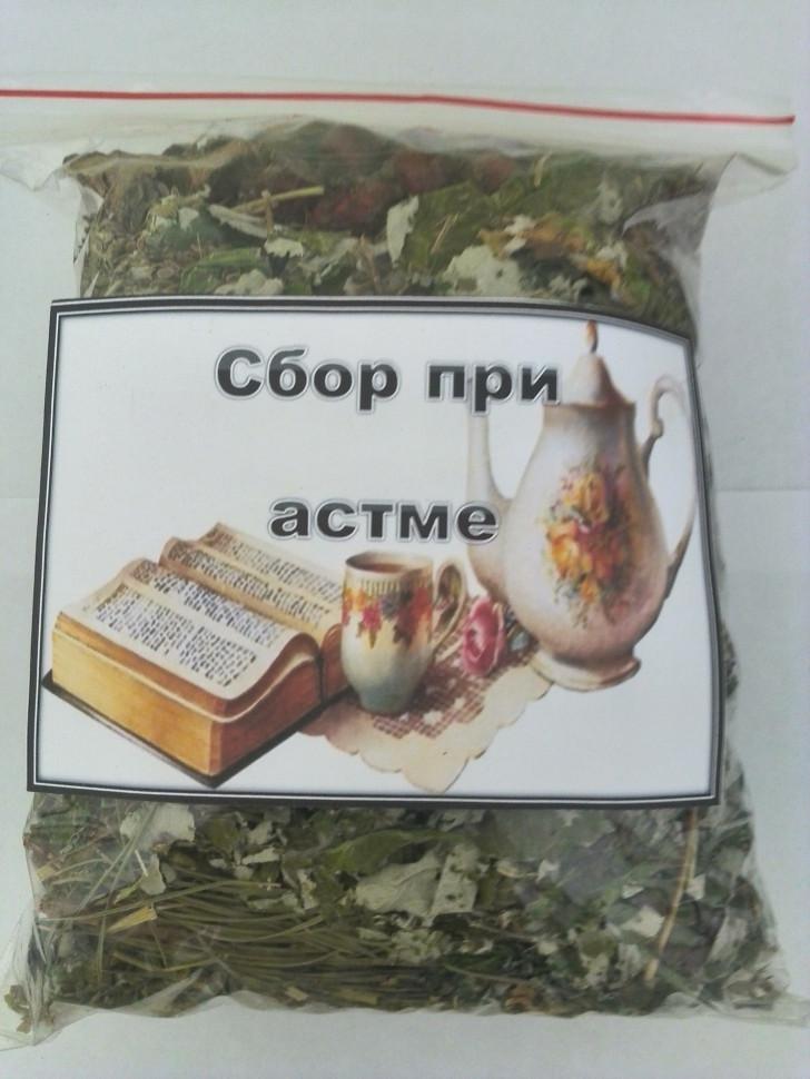 При астме сбор трав